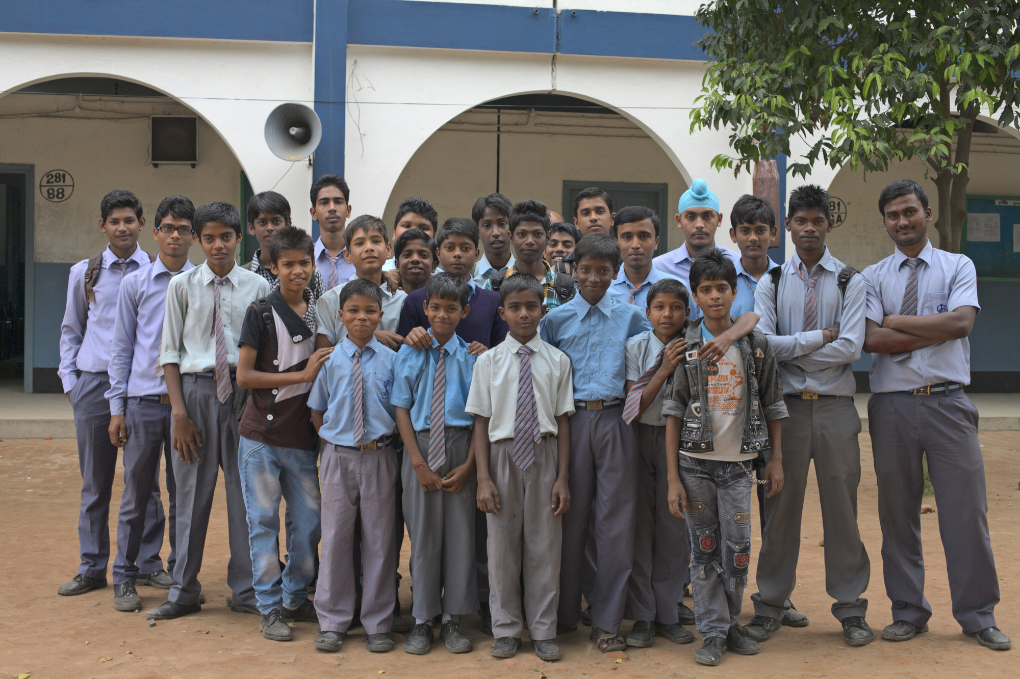 boys at St. Joseph's High School