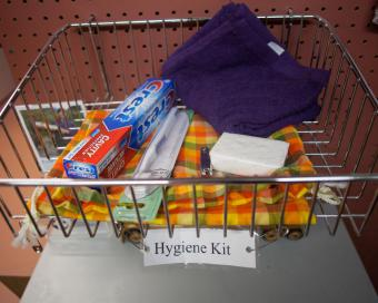 Relief and hygiene kits