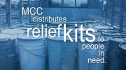 Relief kits provide valuable supplies to families whose lives have been disrupted by war or disaster. 02:26