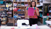 In this video we teach you how to make the t-shirts for the infant care kit. You'll need to make three of these. 12:33