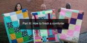 How to finish an MCC comforter. Part 3 of 3 of the step-by-step guide. 4:40