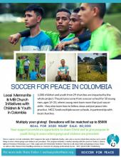 Soccer for Peace in Colombia