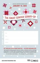 The Great Winter Warm-up Event Host Poster
