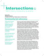 Community-led advocacy (PDF 1.1MB)