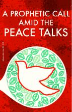 A prophetic call amid the peace talks