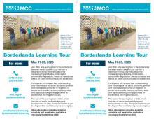 2020 Borderlands learning tour - half page flyer
