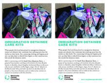 MCC CS immigration detainee care kits
