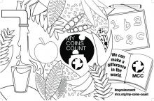 My Coins Count Jug wrapper/Poster - Colorable (PDF 611KB)