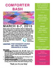 Poster for Indianapolis Comforter Bash (108.7 KB)