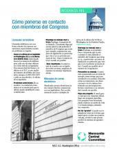 Spanish version- how to contact members of Congress