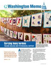 Washington Memo: Carrying heavy burdens--trauma healing and psychosocial support (PDF 5.08MB)