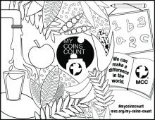 Colorable My Coins Count Poster 8 1/2x11 (PDF 614KB)