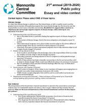 easy essay topics
