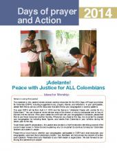 Worship packet for Days of Prayer and Action in Colombia