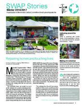 SWAP newsletter - Winter 2016-2017