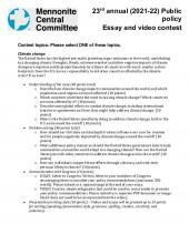High School essay and video contest topics 2021-22 (PDF 228.17KB)