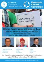 Global South Voices - Goshen flyer
