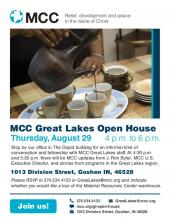 2019 MCC Great Lakes Open House Poster