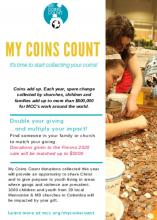 My Coins Count Bulletin Insert