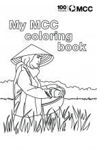 MCC centennial coloring book