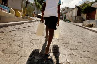 Life in Haiti after the devastating Jan. 12, 2010, earthquake has been particularly hard for many of the nearly 300,000 unpaid child workers in Haiti who cook, fetch water and do other household chores.