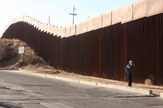 Mexican side of the U.S.-Mexico border in Nogales.