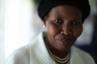 Ever since Elsie Sithebe's daughter died of HIV and AIDS, she has been working to help others learn how to keep from getting the disease or cope with its effects.
