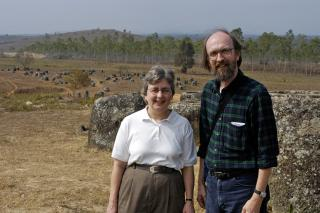 Linda Gehman Peachey and Titus Peachey visited the Plain of Jars in northern Laos where unexploded ordnances and bomb craters pockmark the landscape made famous by huge sandstone jars created by an unknown civilization.