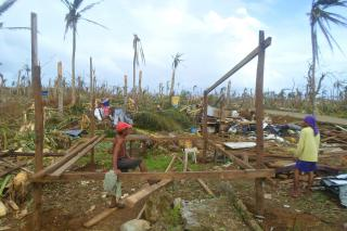 Typhoon Haiyan battered the Philippines, including this area of Eastern Samar. MCC is responding through partners. Learn more at mcc.org/typhoon-response. (ACT Alliance/Christian Aid photo)