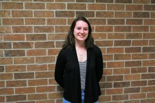 Greta Schrag, regional essay contest winner