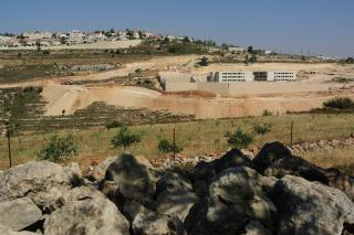A Palestinian family farm in the West Bank