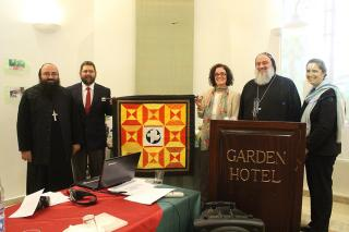Quilt given to Syriac Orthodox Church