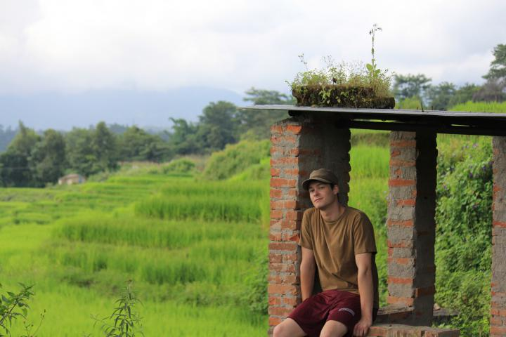 Malcolm McDermond is serving in Nepal through MCC's Serving and Learning Together (SALT) program.