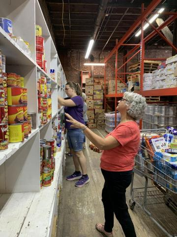 Christ's Hands food pantry