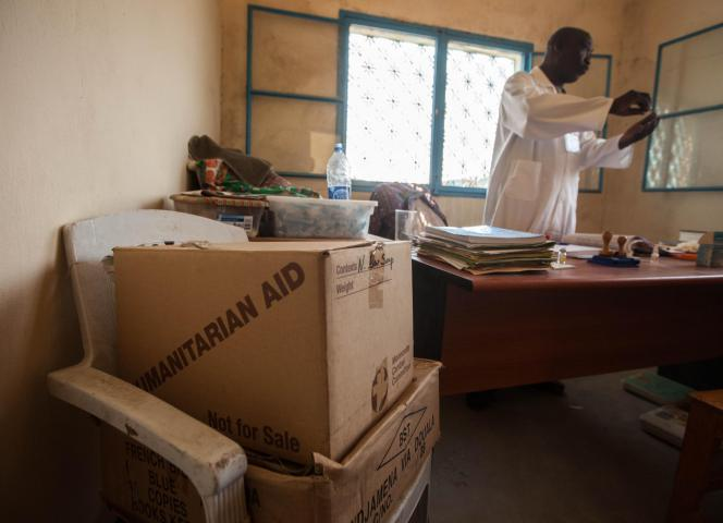 "In this office, Dingamyo Ngarkounda, a medical counselor for CEVIFA, tests hundreds of people each year for HIV, works with people living with HIV, provides basic medical checkups and treats common ailments such as malaria. This particularly helps fill a gap for patients who don't have family support because of stigma against those living with HIV. ""Because their families won't help them, they come here,"" he says."