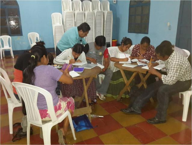 In AltaVerapaz, Guatemala, ruralK'echí-speakingyoung adults who have not been to school or who dropped out as children are finding new chances to learn. On Saturdays, theK'ekchíMennonite Church provides basic literacy and secondary education to youth and young adults. Students receive credit through a national correspondence course. MCC helps to fund teacher and supervisor salaries, transportation and other program costs.