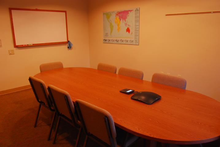 Conference rooms provide space for smaller meetings or breakout sessions in the Meeting Place.