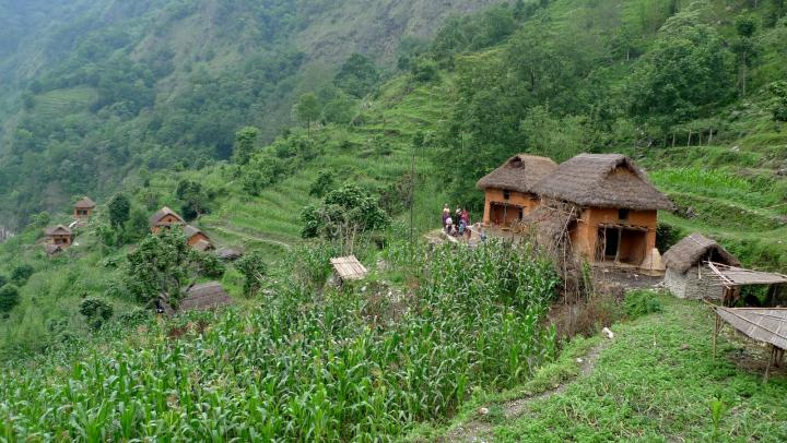 A village inOkaldhungadistrict, Nepal, before the earthquake. Many ofMCC'spartners are located in rural and remote areas such as this.