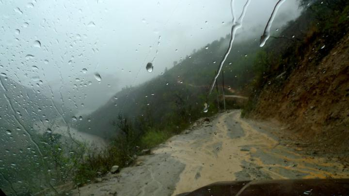 Mountainous roads betweenKathmanduandOkhaldhunga. Many people affected by the Nepal earthquakes are difficult to reach because of treacherousroads, particularly during monsoon season.MCC'sfirst relief efforts will be withthe people living in theOkhaldhungaregion.