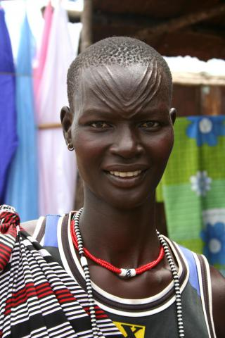 <strong><span>Dinka Woman</span></strong><span> - Juba, South Sudan</span>