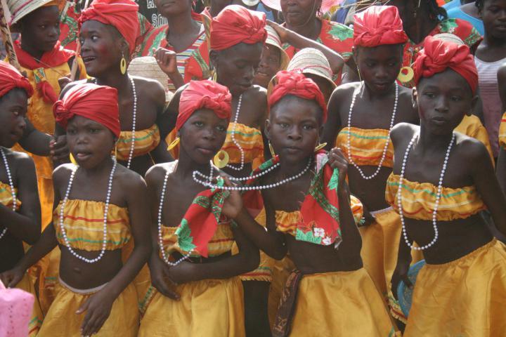 <span><strong>RaRa Dancers</strong> - Desarmes, Haiti</span>