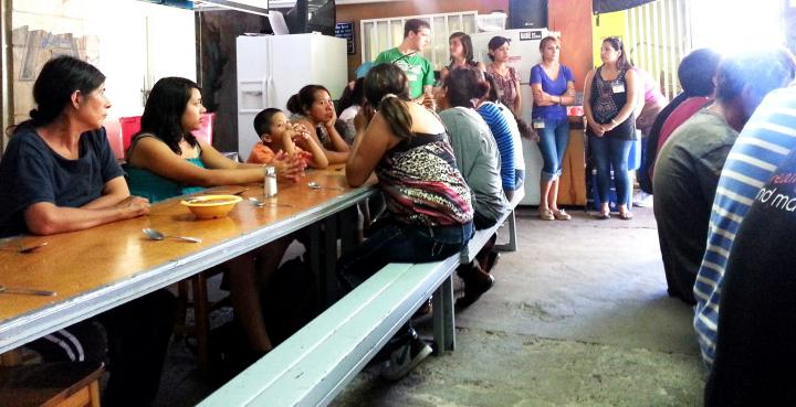 MCC supports compassionate treatment of migrants passing through Nogales, Mexico.