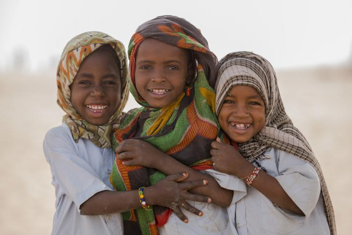 Photo of students in North Kanem, Chad