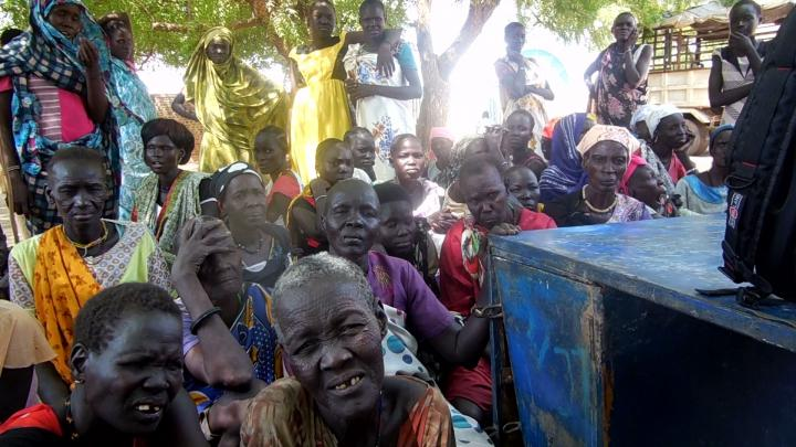 Beneficiary selection famine South Sudan