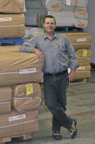 On assignment: MCC warehouse manager
