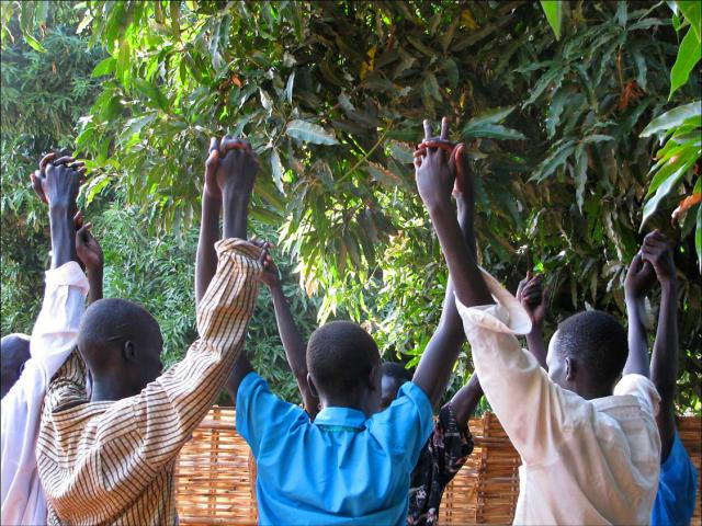 MCC supports peacebuilding workshops such as this one through the Diocese of Rumbek and other partner organizations.