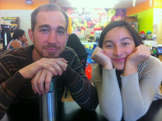 Justin Shenk and Ayda Villalobos