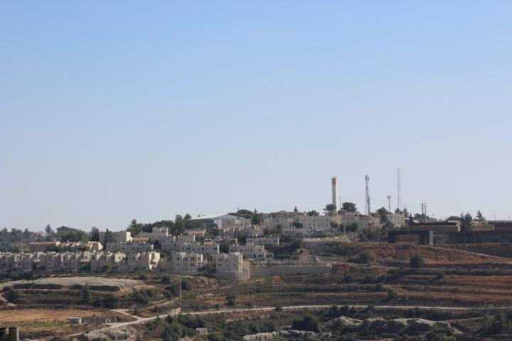 Part of the Gush Etzion bloc of Israeli settlements near Bethlehem in the West Bank, Palestine.