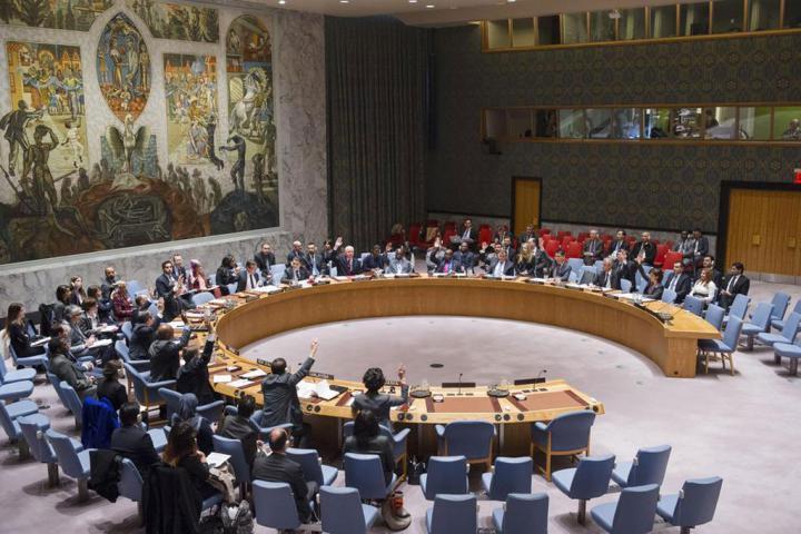 UN Security Council Votes